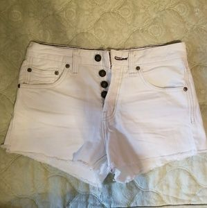 Free people Uptown Denim shorts